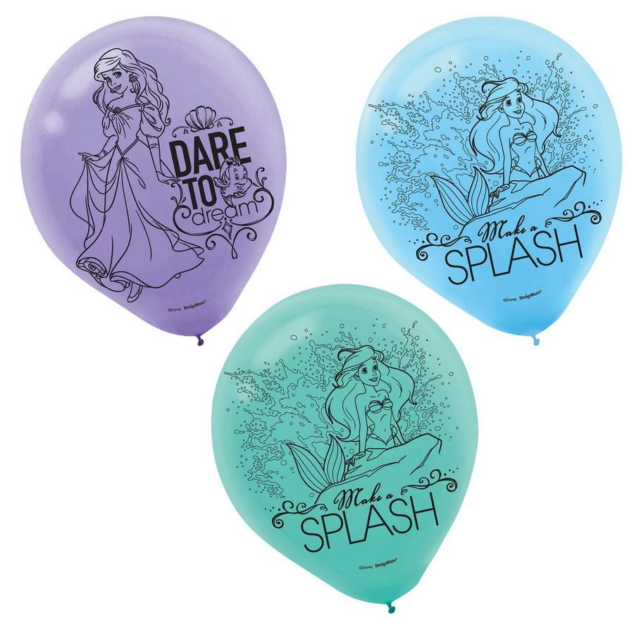 Ariel Dream Big 30cm Latex Balloons