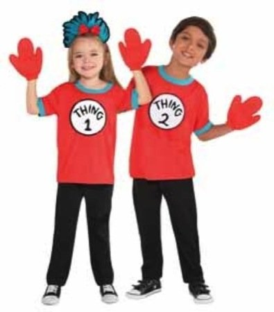 Thing 1 & 2 Costume Kit