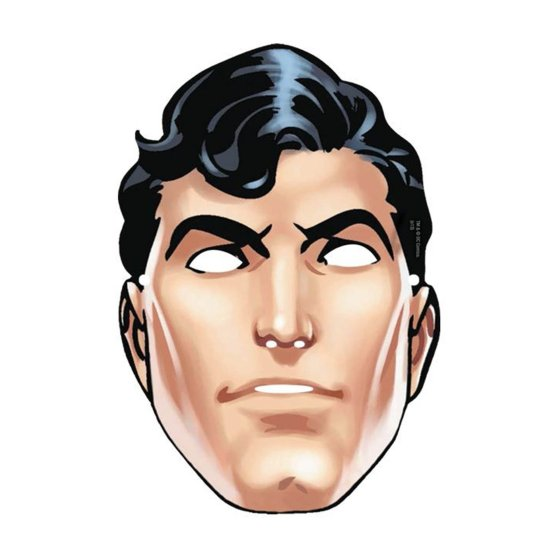 Superman Paper Mask