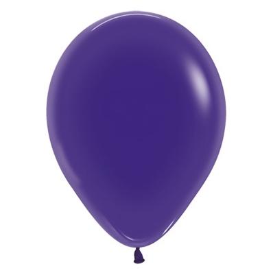 Sempertex 30cm Crystal Purple Violet Latex Balloons 351, 25PK
