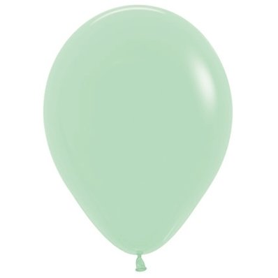 Sempertex 30cm Fashion Pastel Green Latex Balloons 130, 100PK