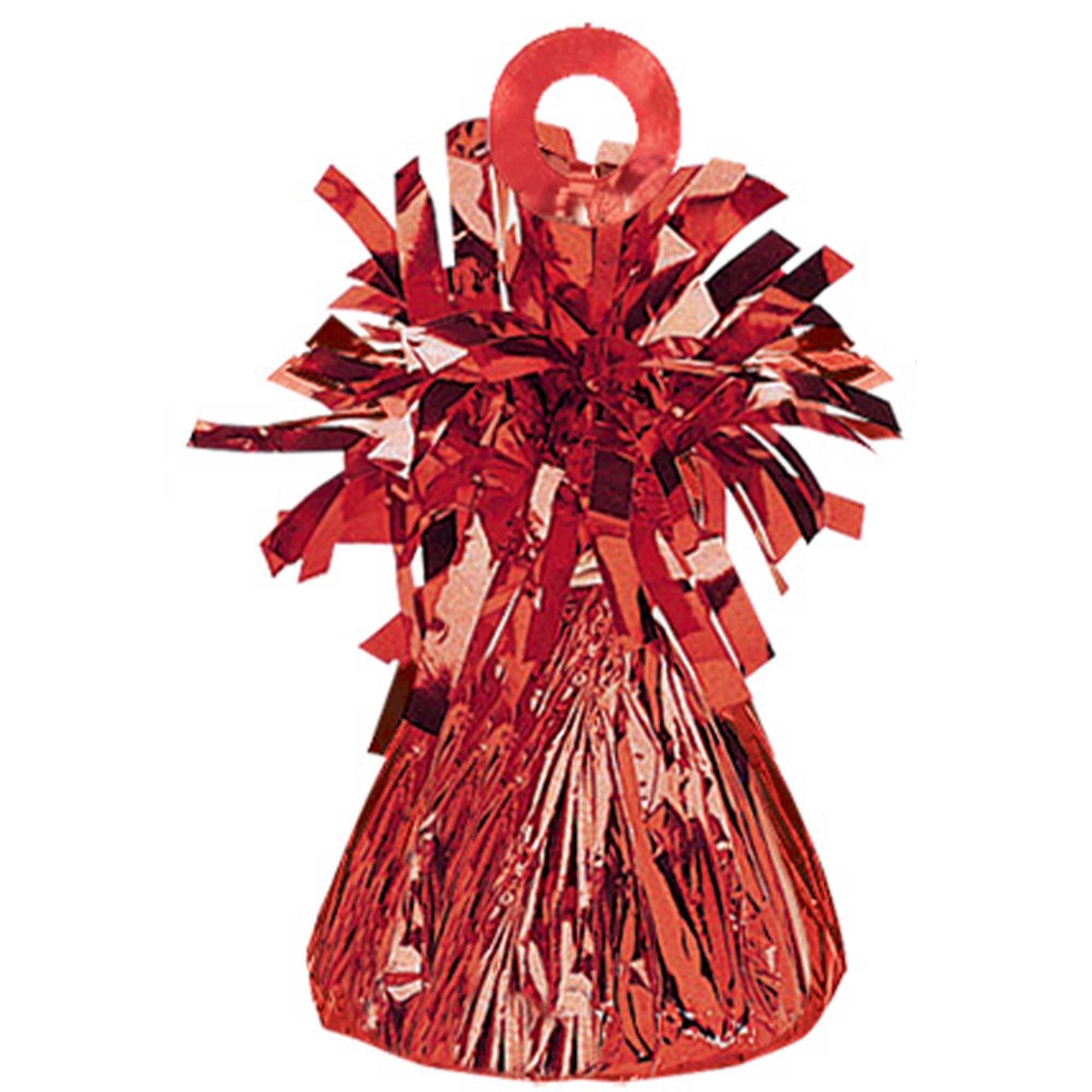 Small Foil Balloon Weight - Red