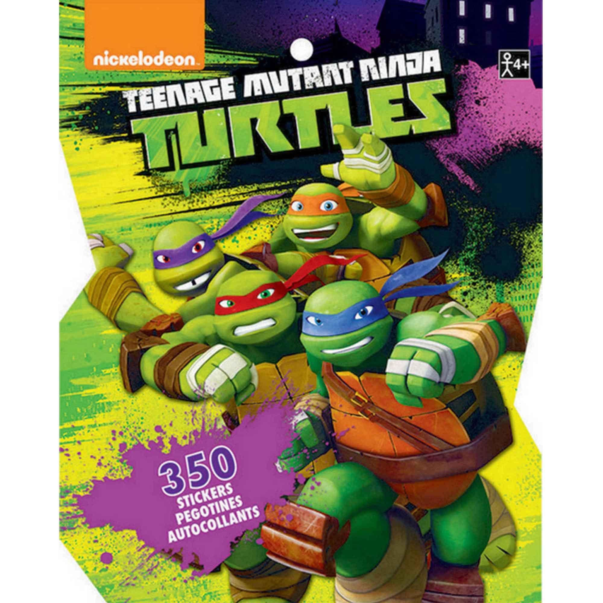 Sticker Book Teenage Mutant Ninja Turtles