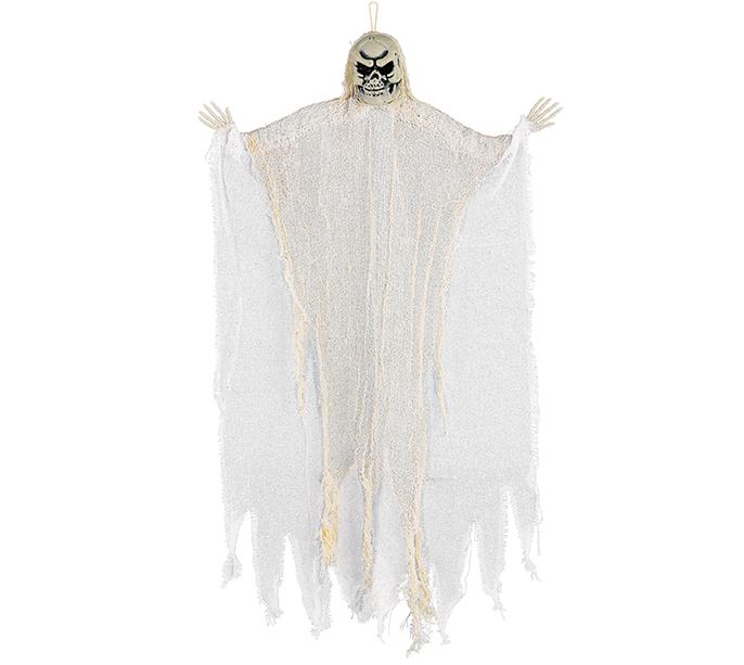 Medium White Reaper Hanging Prop Decoration Fabric & Plastic NEW DESIGN