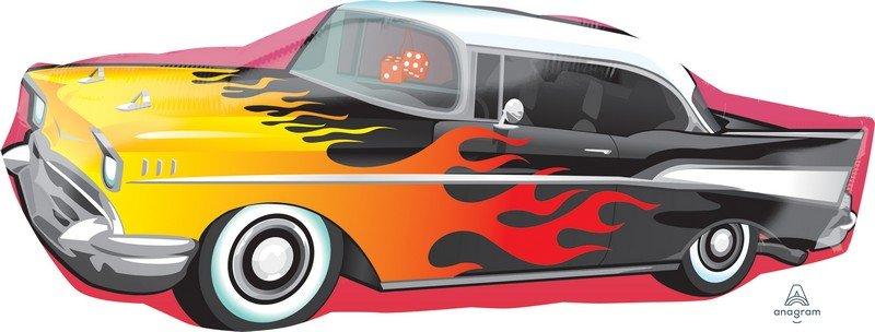 SuperShape XL 50`s Rockin` Car P35
