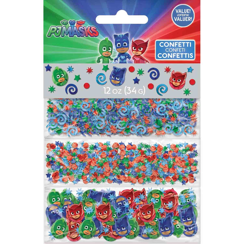 PJ Masks  Confetti Value Pack 1.2oz / 34g Foil & Cardboard Pieces