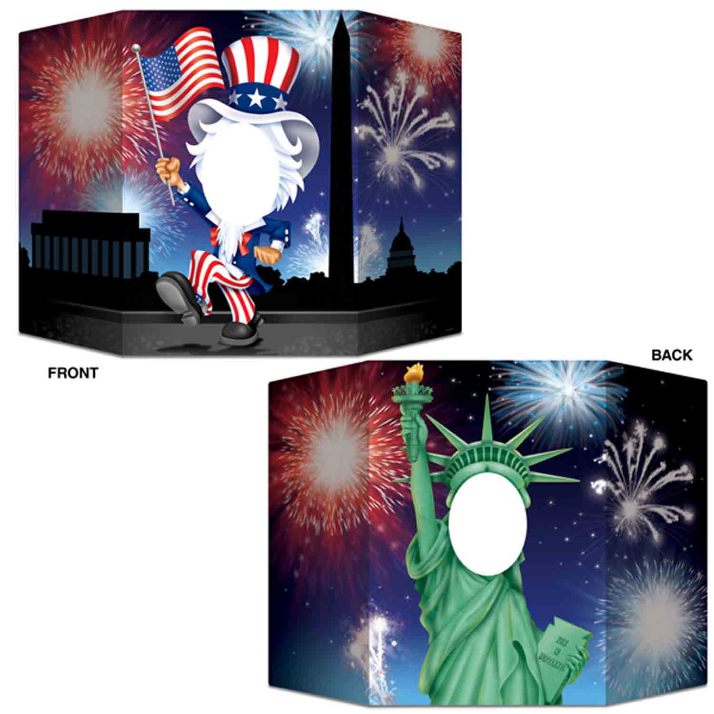 USA Patriotic Photo Prop