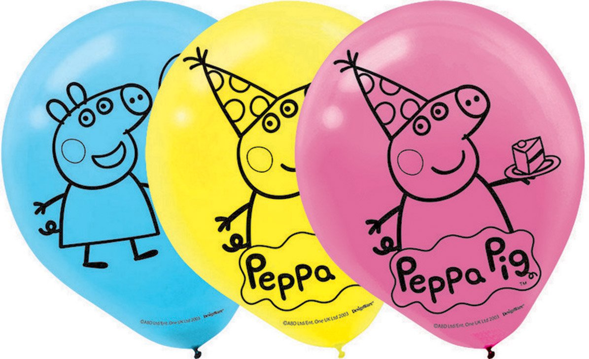 Peppa Pig 30cm Latex Balloons