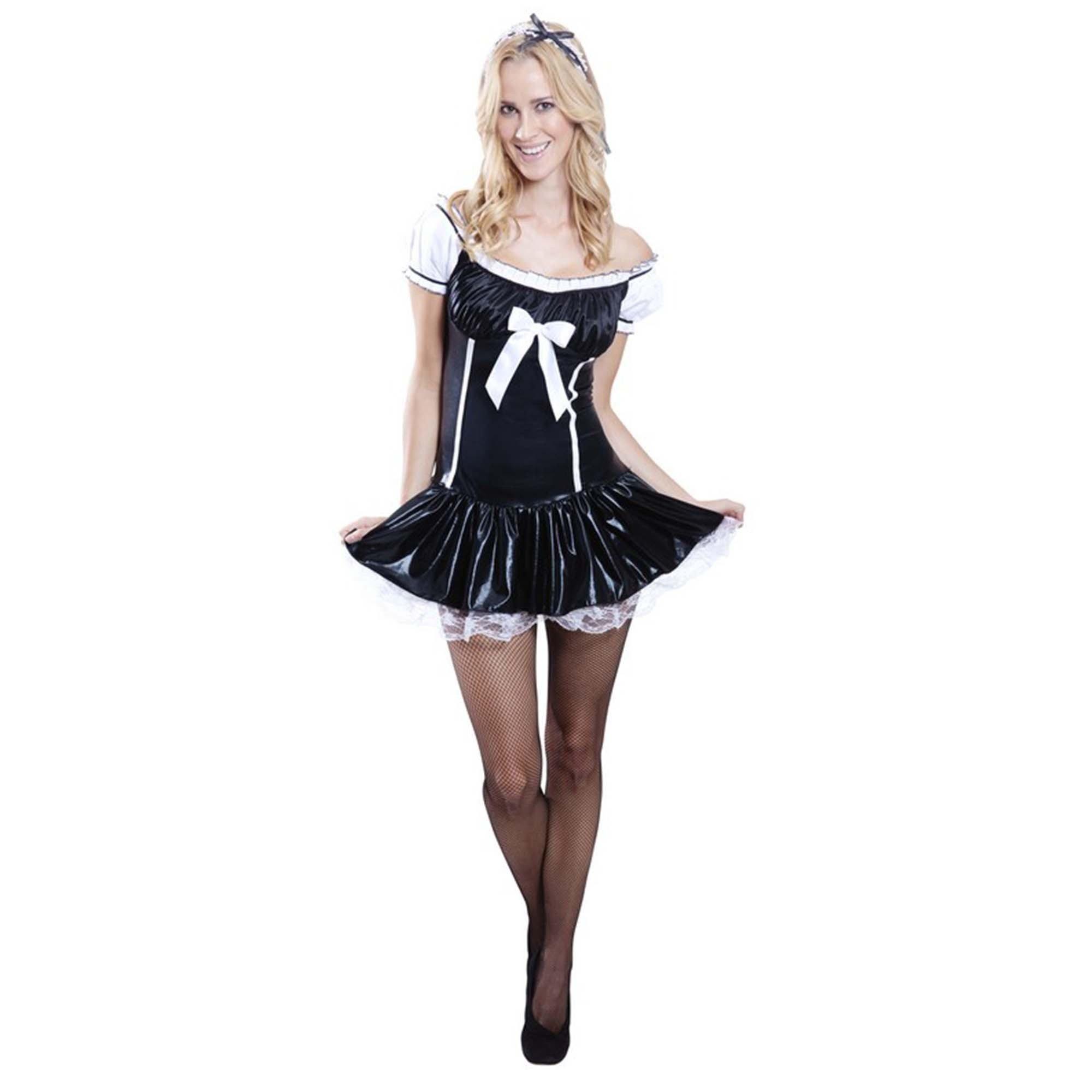 French Maid Costume (Medium)  - Adult