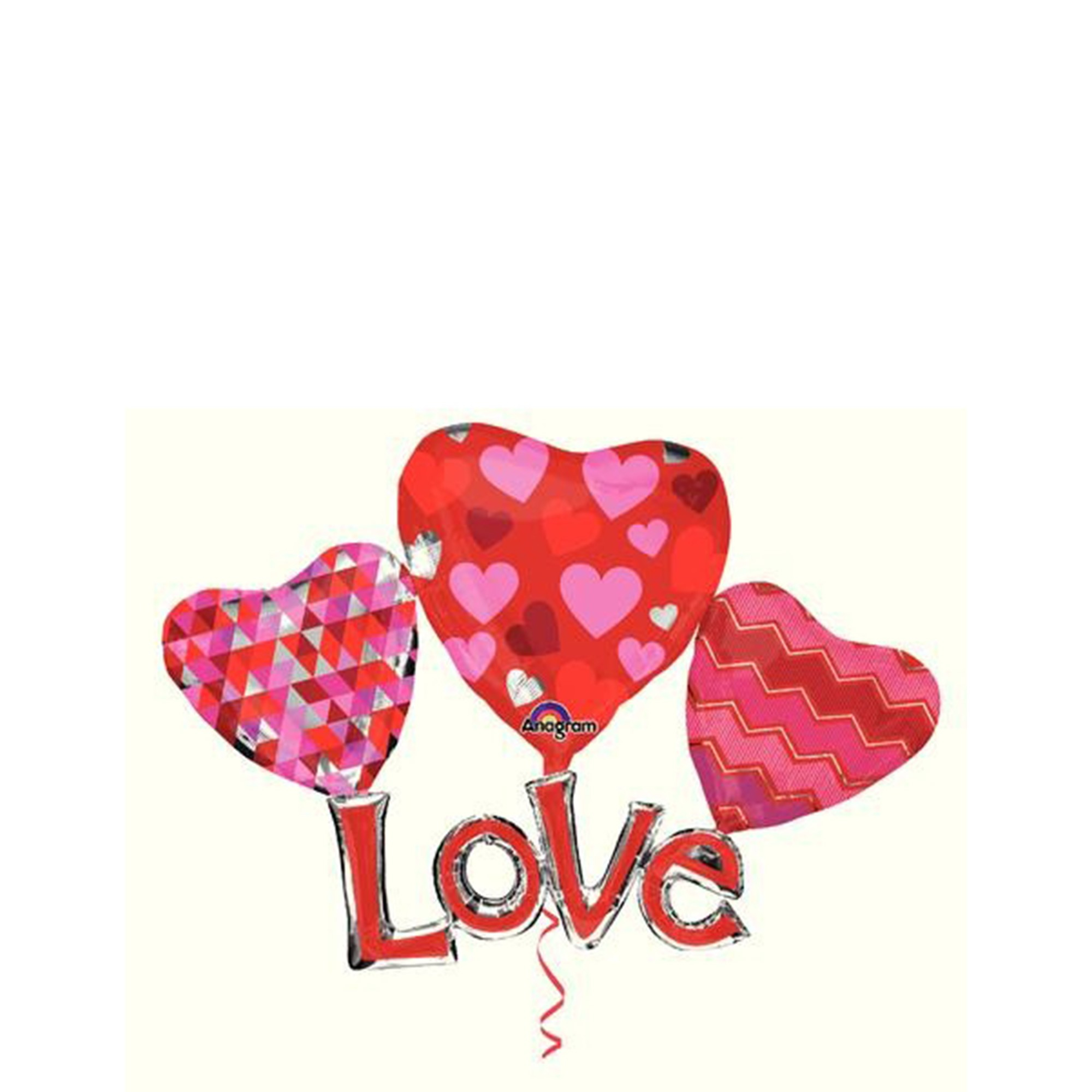 Multi-Balloon Floating Love P80