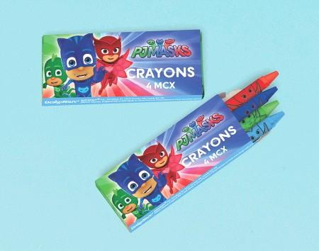 PJ Masks Crayon Favor