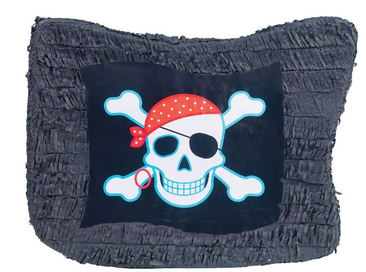Pirate Flag 2D Shape Pinata