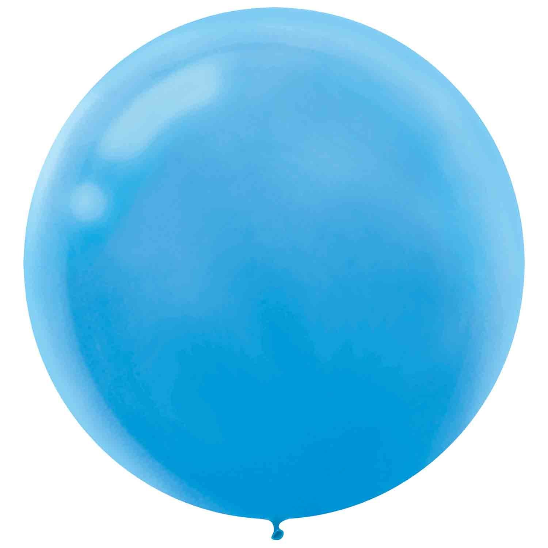 Latex Balloons 60cm 25 Pack Powder Blue
