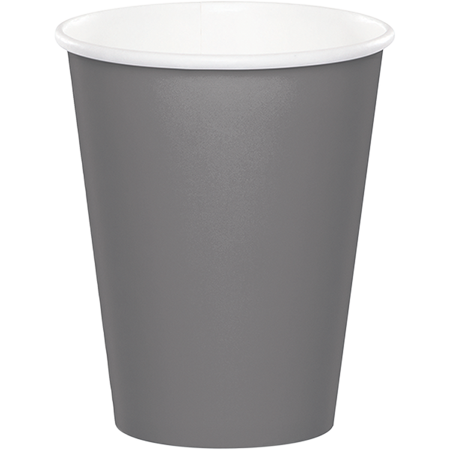 Glamour Gray Cups Paper 266ml