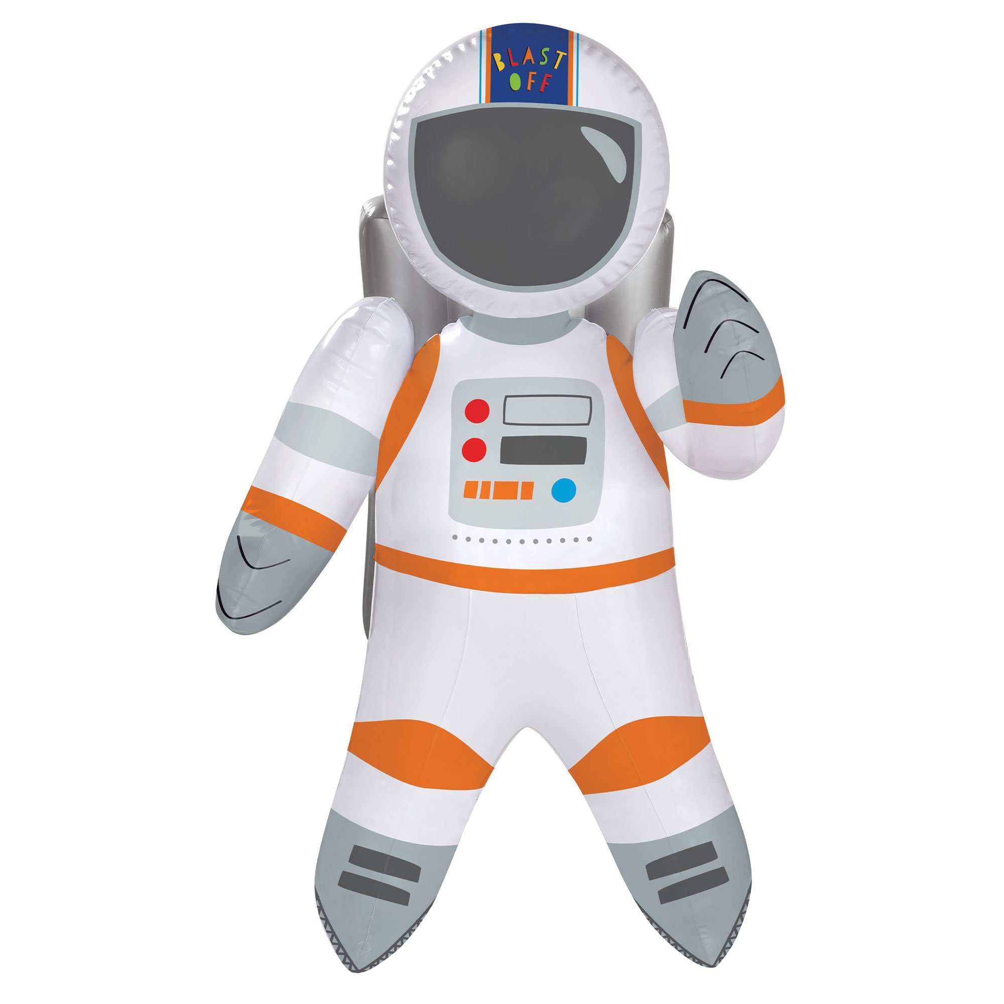Blast Off Birthday Inflatable Astronaut