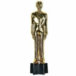Awards Night Male Statuette Trophy Decoration