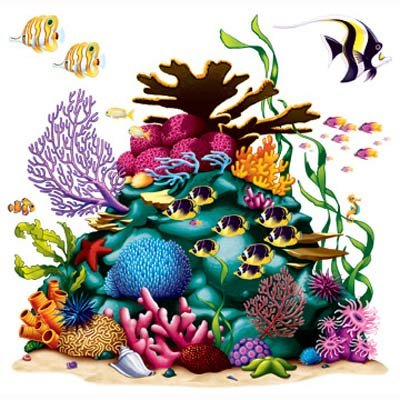 Coral Reef Wall Decorations Insta-Theme Props