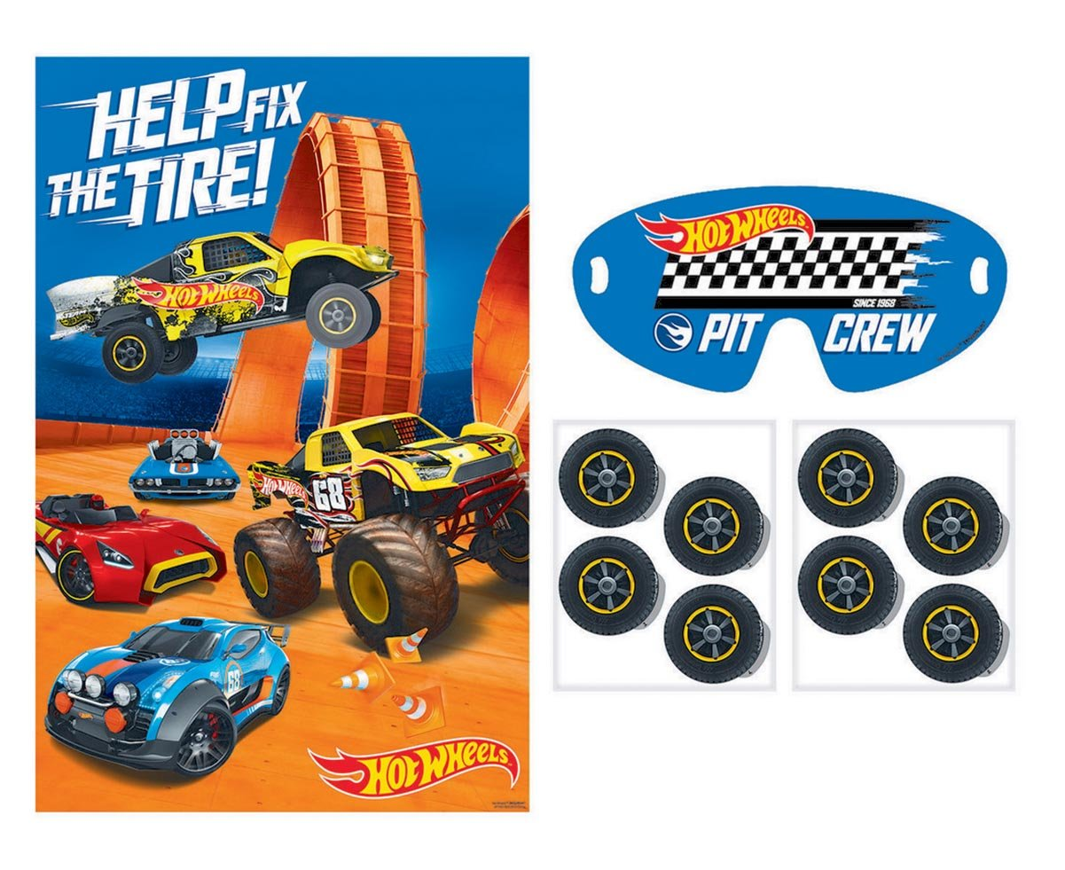 Hot Wheels Wild Racer Party Game