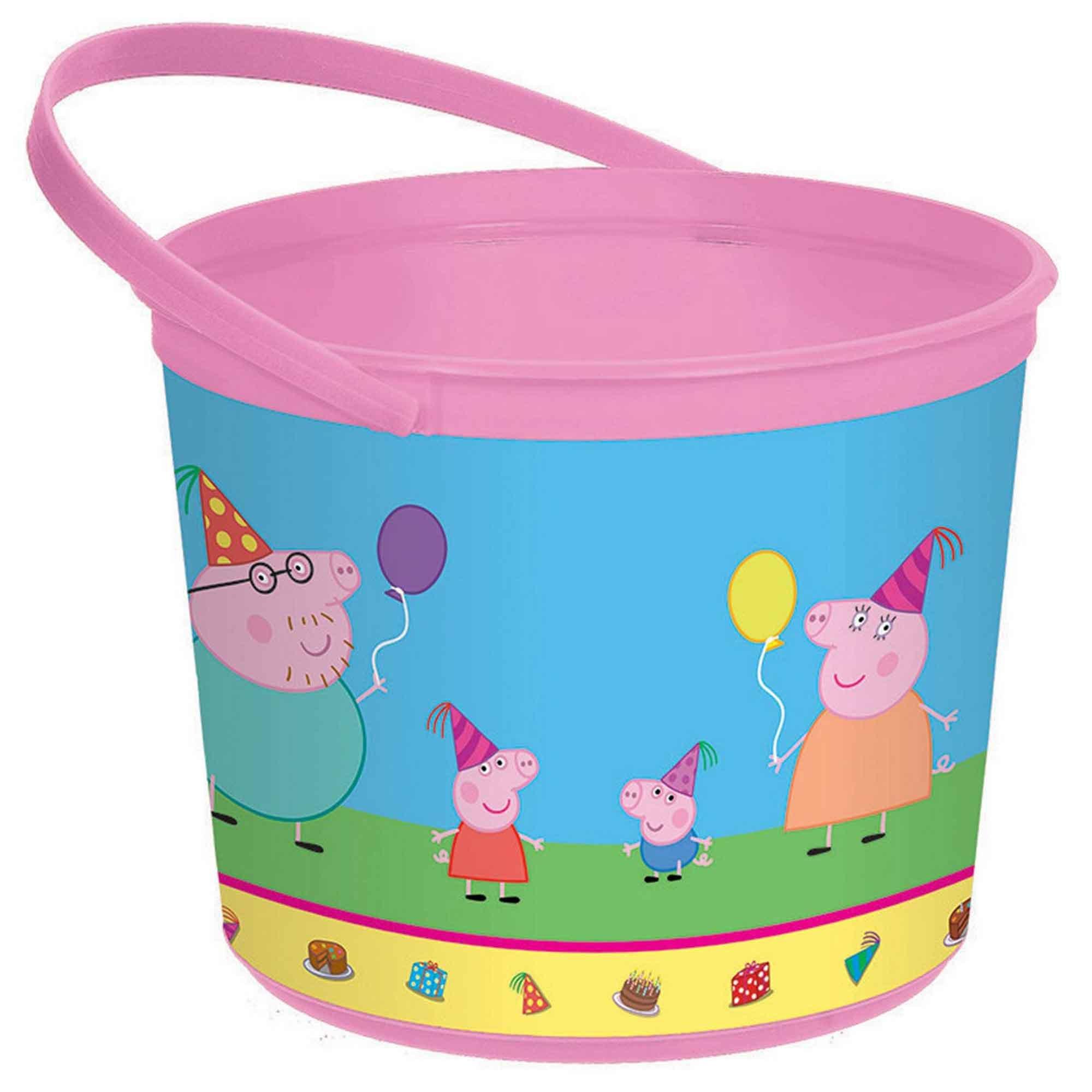 Peppa Pig Favor Container - Plastic
