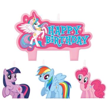 My Little Pony Friendship Birthday Candle Set