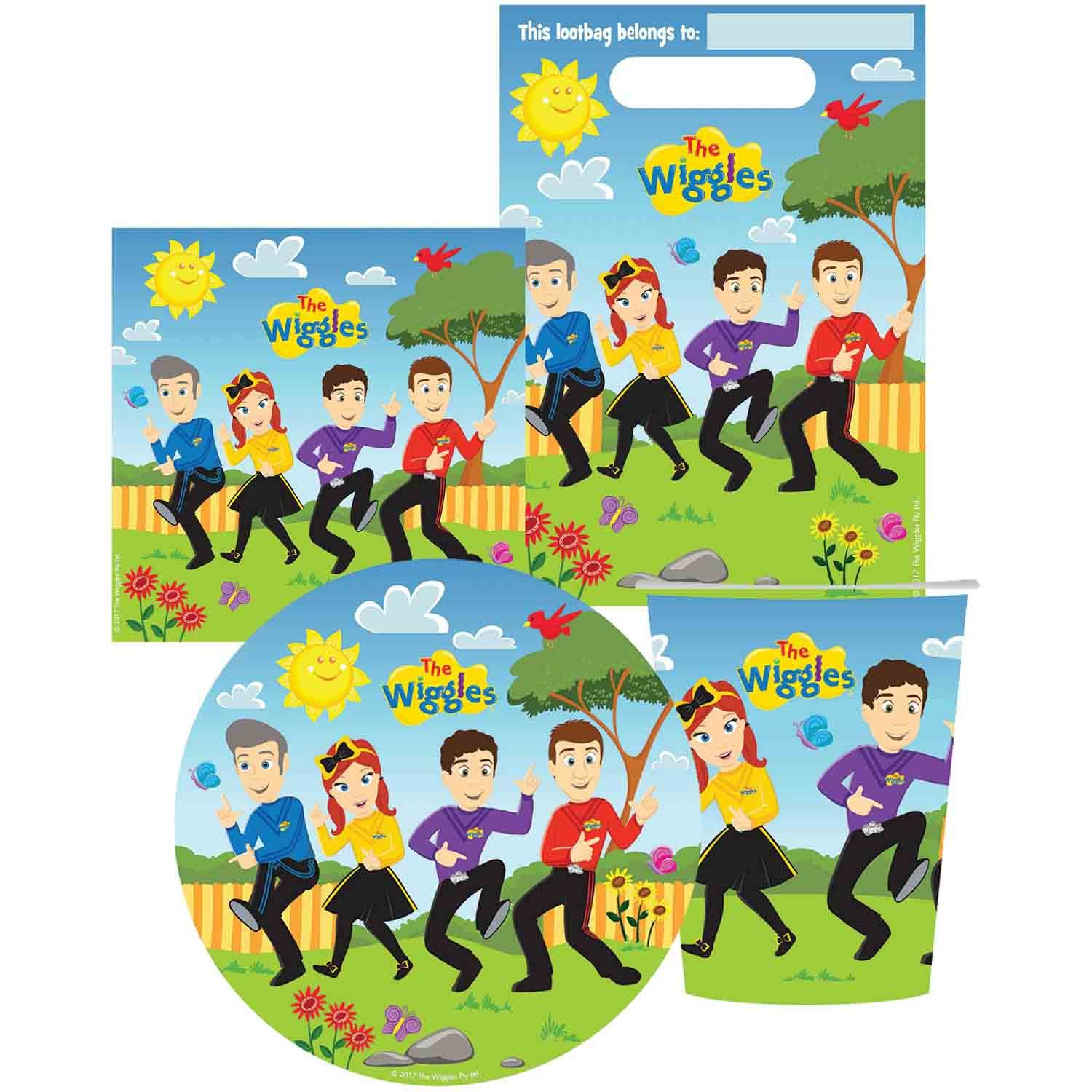 The Wiggles Party Pack 40pc