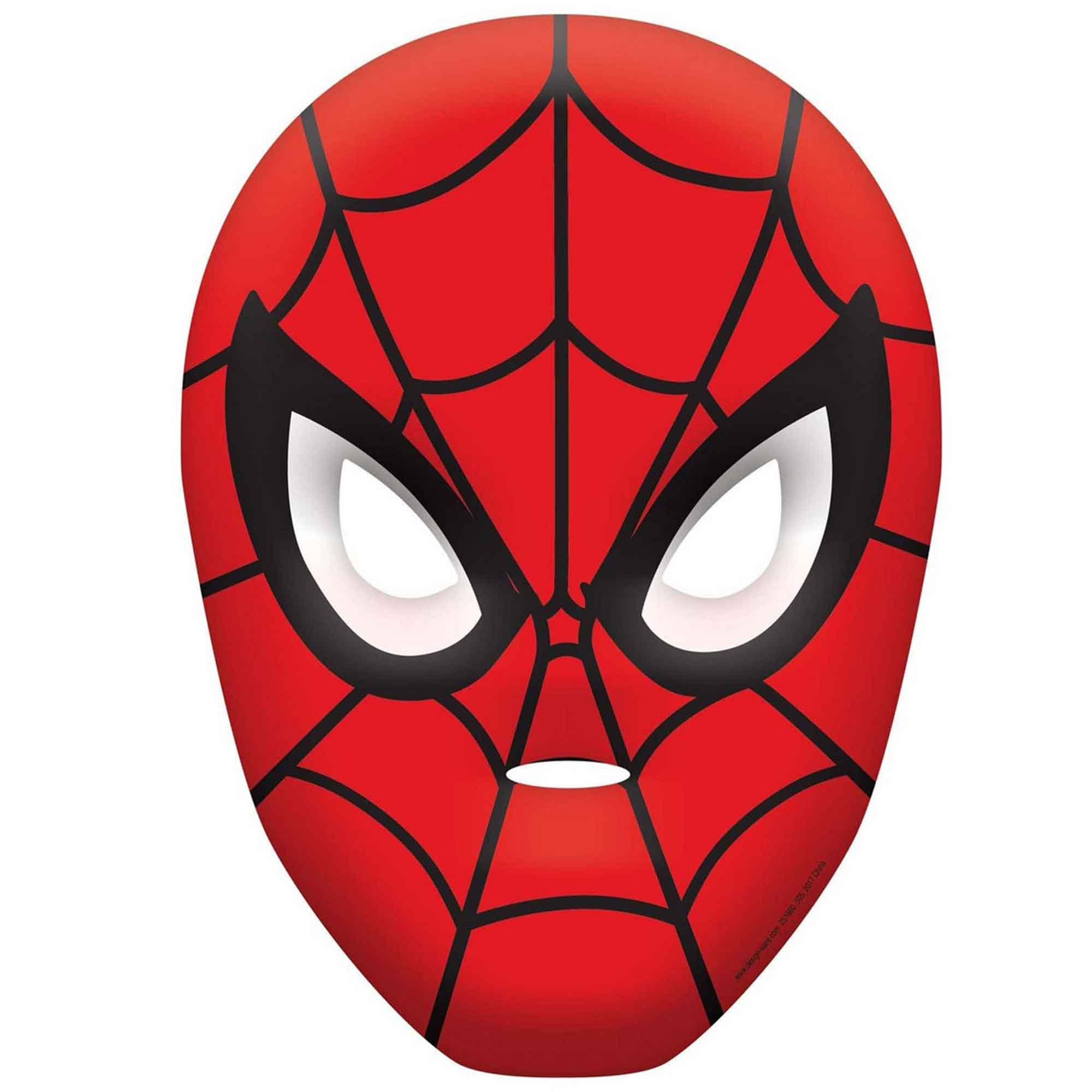 Spider-Man Webbed Wonder Vac Form Mask