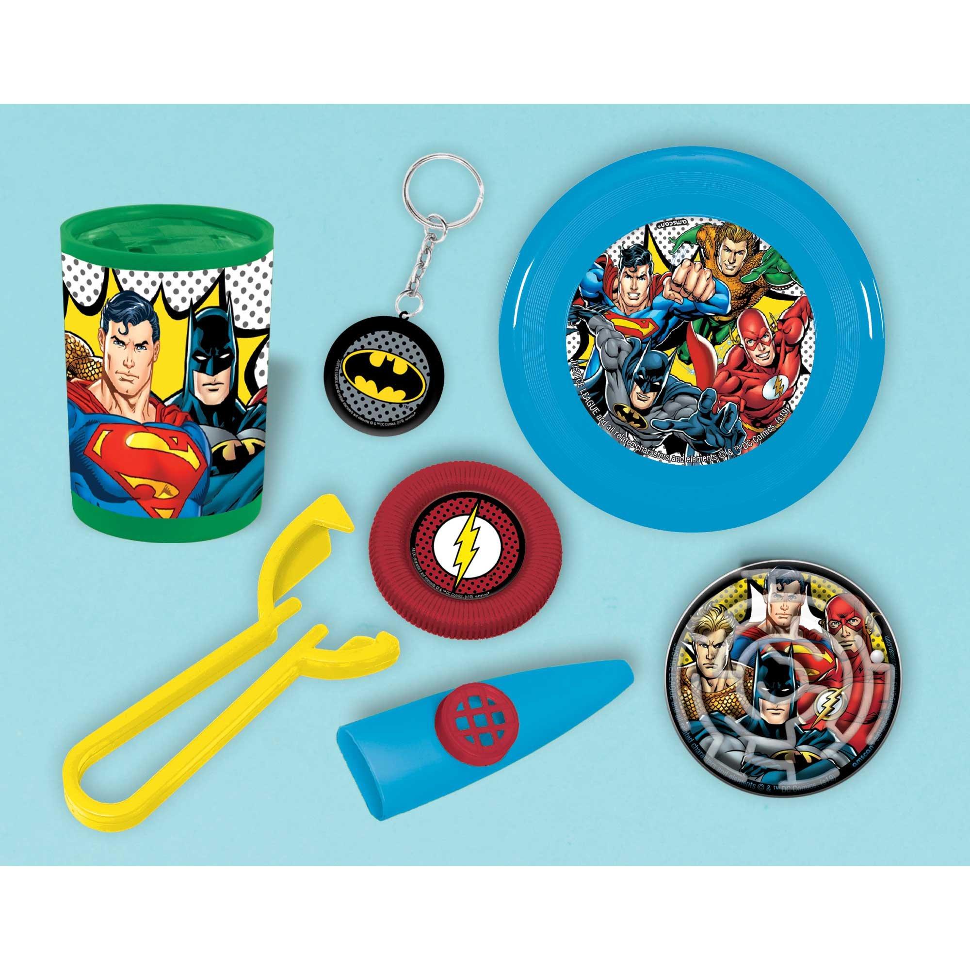 Justice League Heroes Unite Mega Mix Favors Value Pack