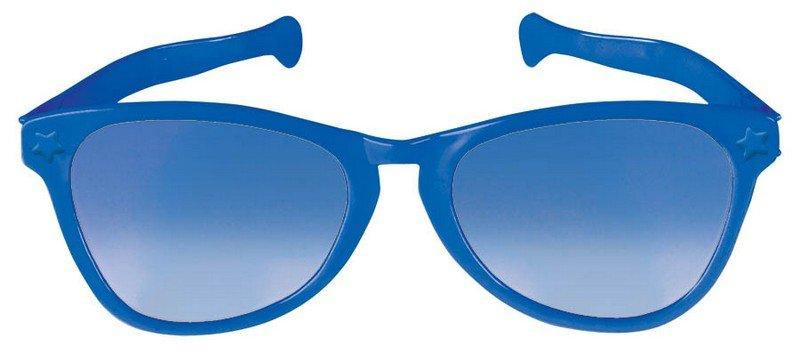 Jumbo Glasses - Blue