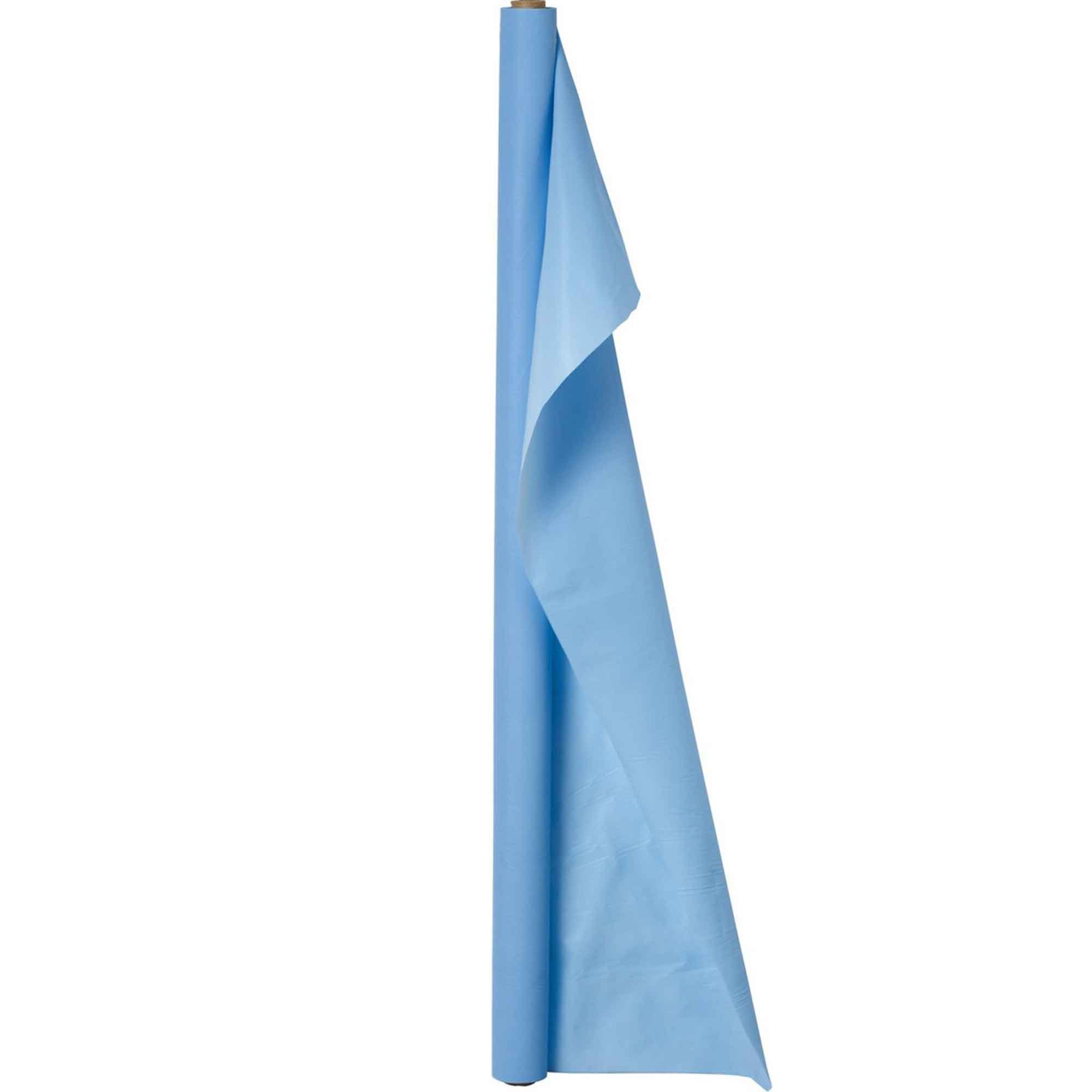 Plastic Table Roll-Pastel Blue