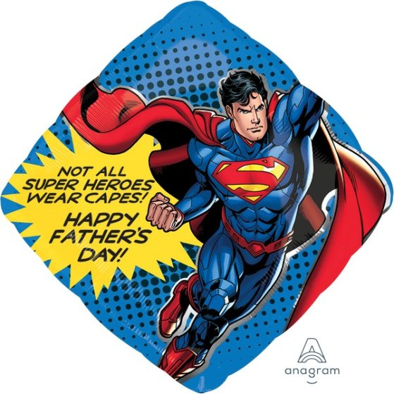 SuperShape Superman with Cape P38