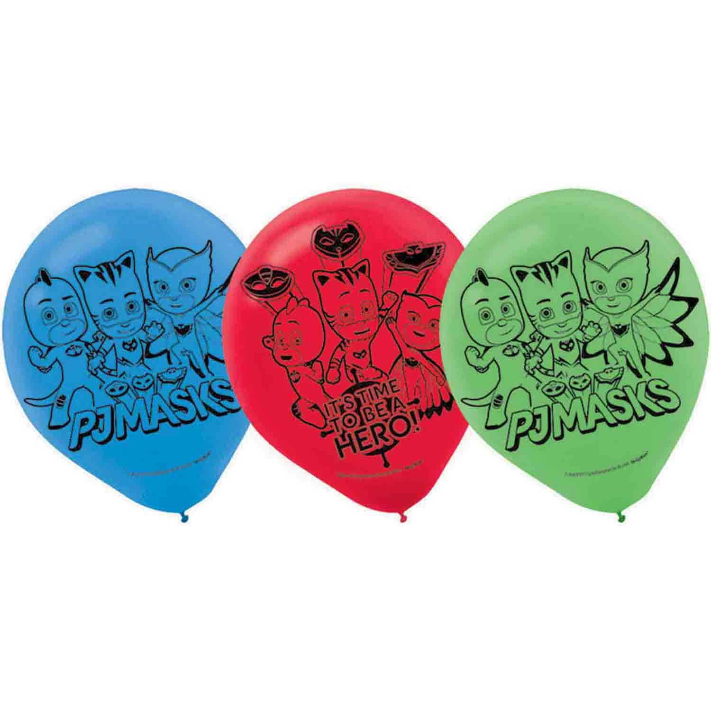 PJ Masks 30cm Latex Balloons
