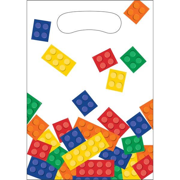 Block Party Loot Bags Plastic