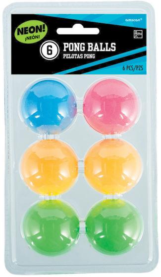Pong Balls - Neon