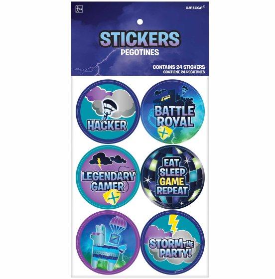 Battle Royal Stickers Favors
