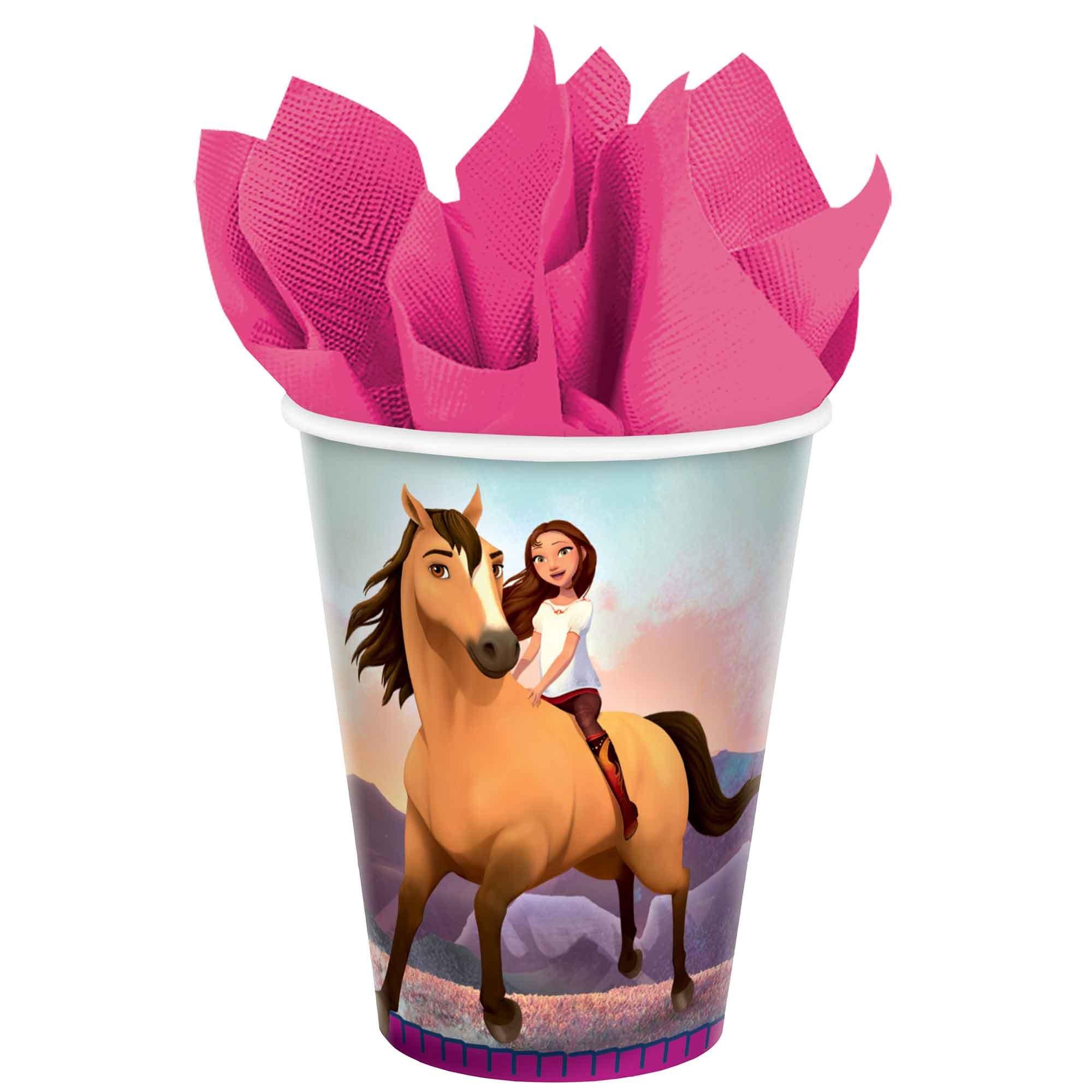 Spirit Riding Free 9oz / 266ml Paper Cups