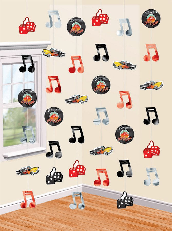 Classic 50's Hanging Strings Rock & Roll