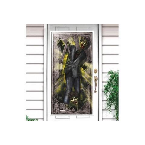 Zombie Vertical Door Decorations Plastic