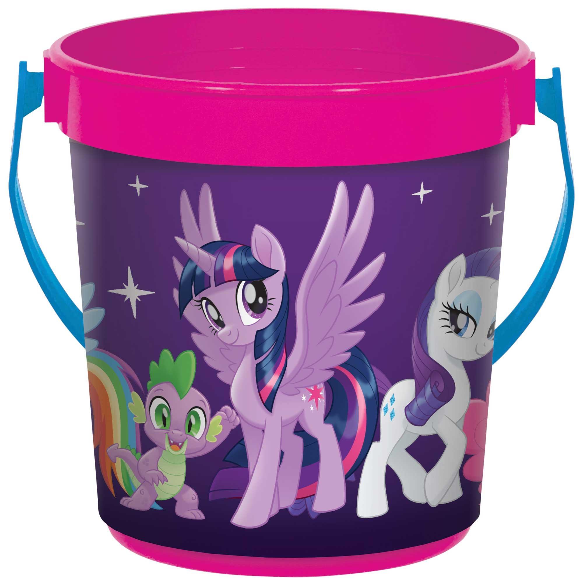 My Little Pony Adventures Plastic Favor Container