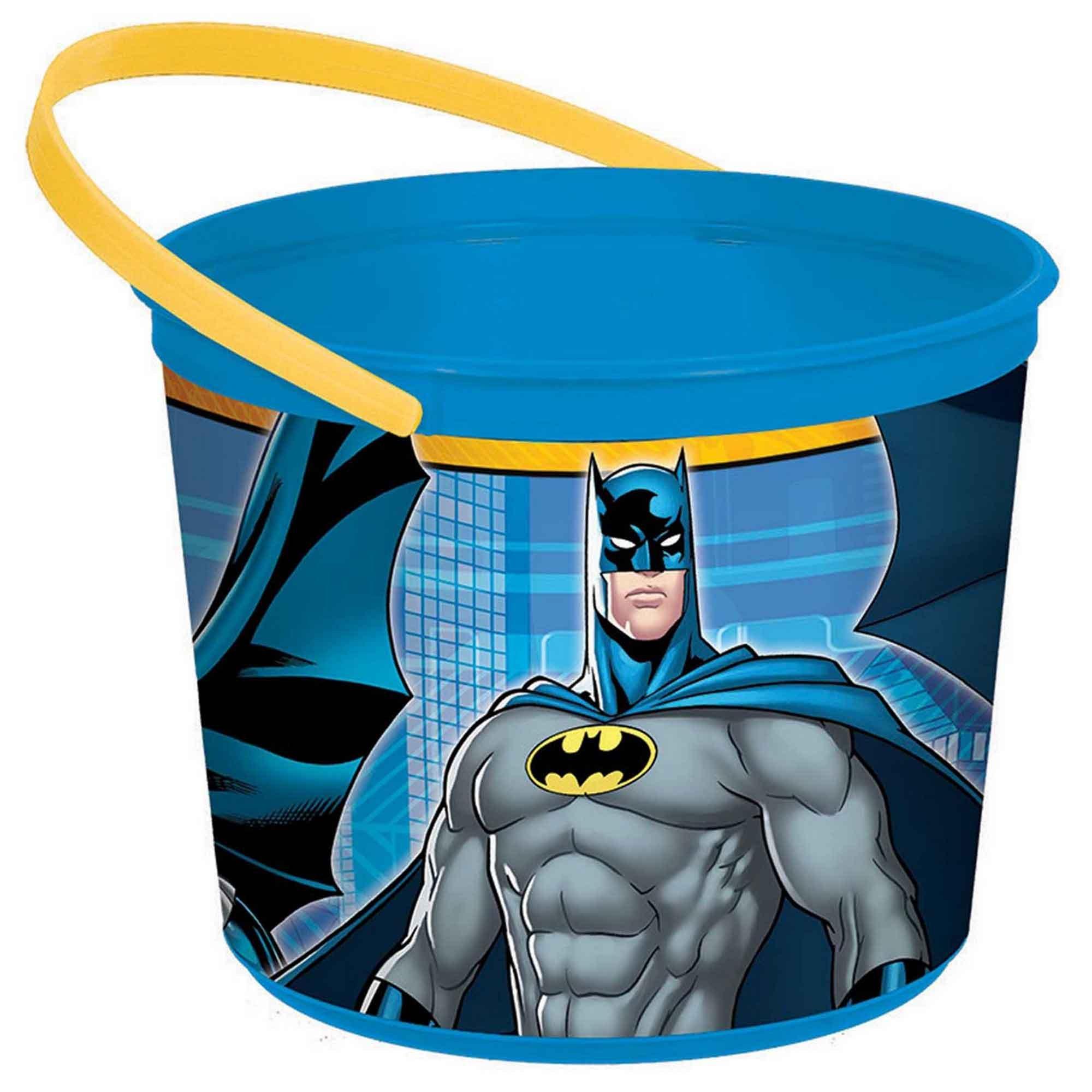 Batman Plastic Favor Container