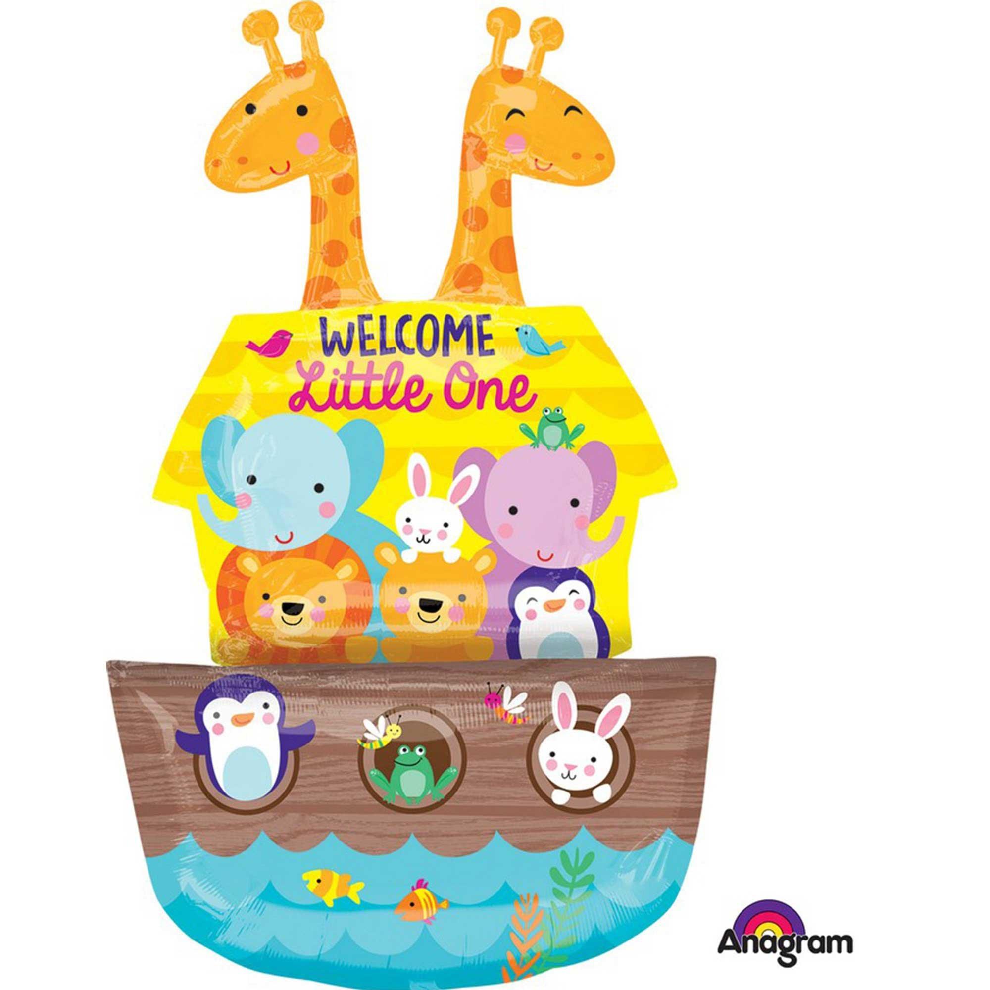 Multi-Balloon Baby Shower Noah's Ark P60