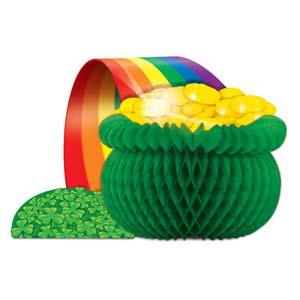 Pot O Gold & Rainbow Centrepiece