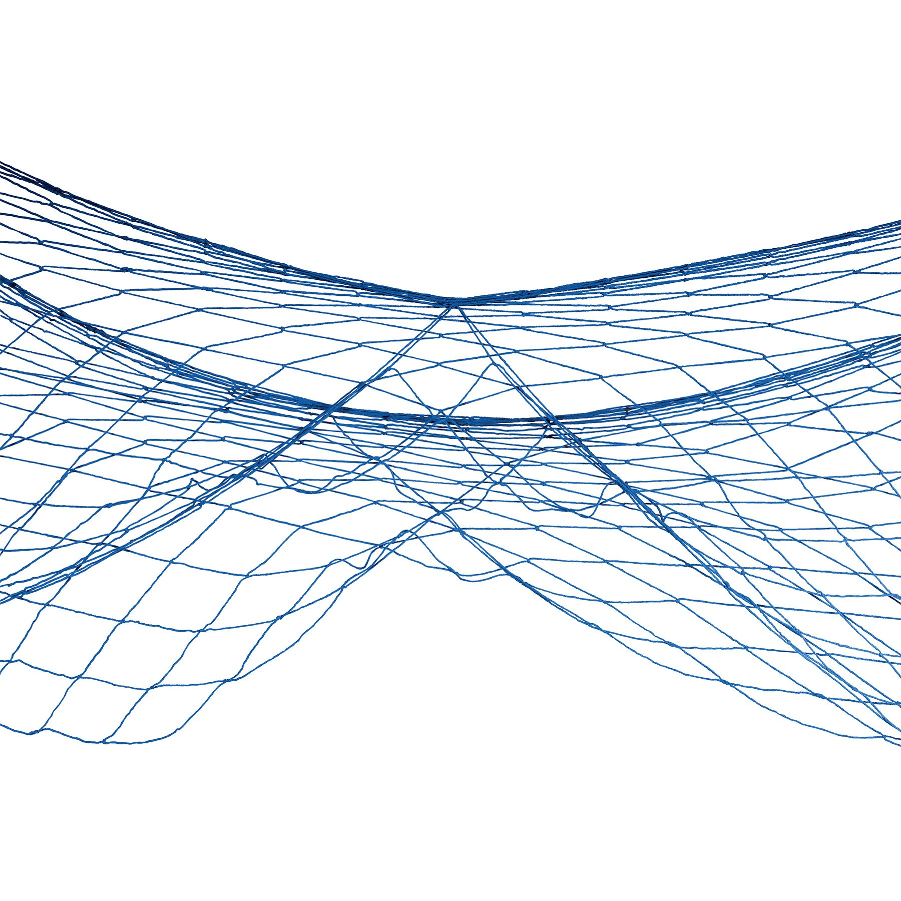 Fish Netting Decoration Blue