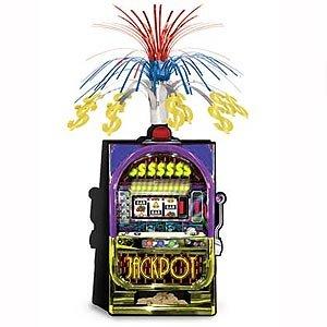 Casino Slot Machine Jackpot Cascade Centrepiece