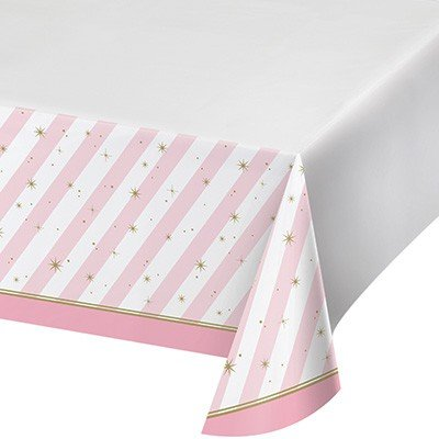 Twinkle Toes Tablecover Plastic Border Print 137cm x 259cm