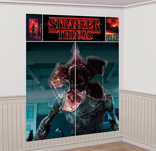 Stranger Things Wall Decorating Scene Setter Kit