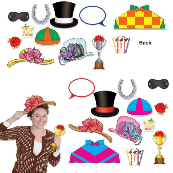 Photo Booth Props Horse Racing Photo Booth Props Fun Signs