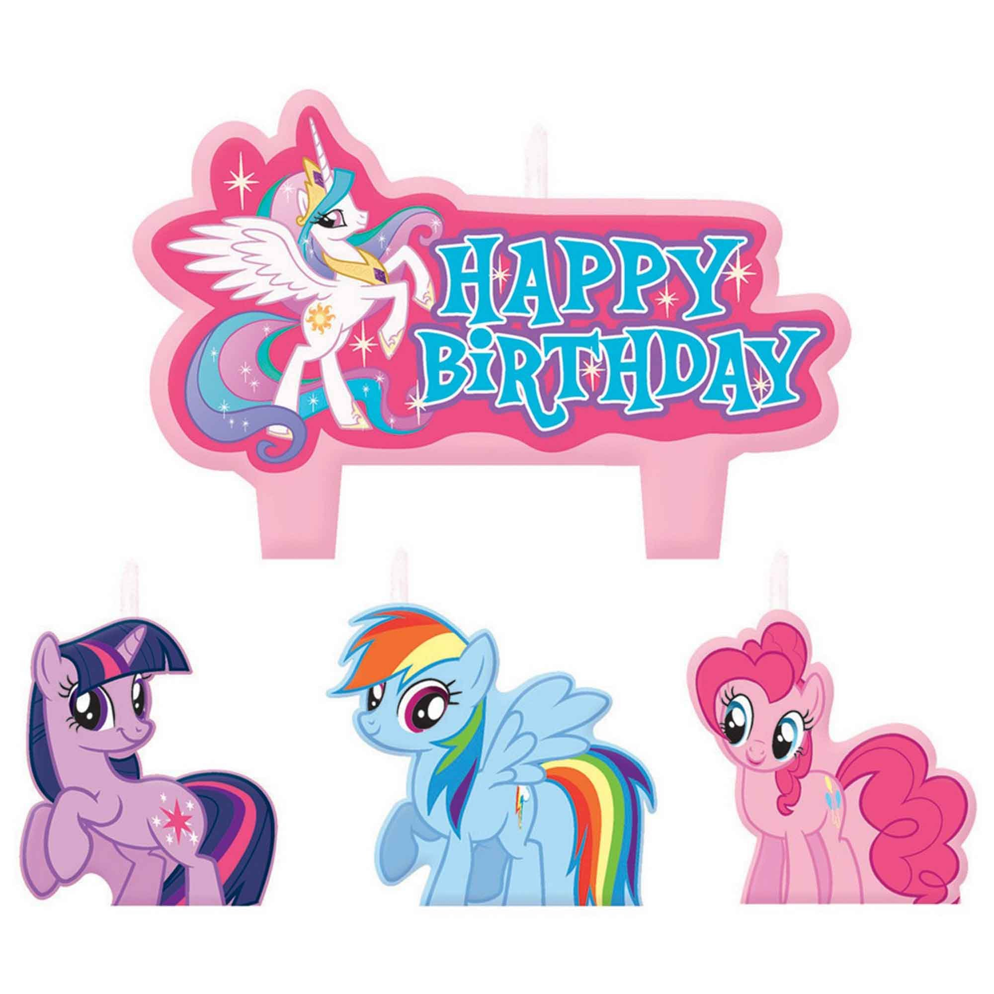 My Little Pony Friendship Birthday Candle Set