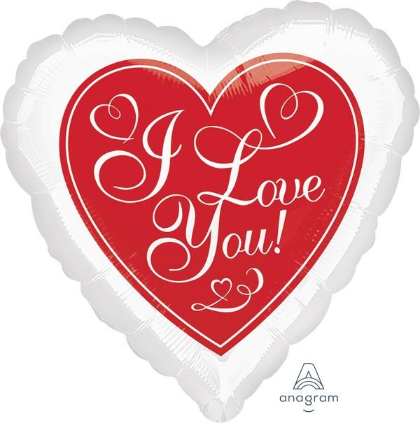 45cm Standard HX Red Hot Love S40