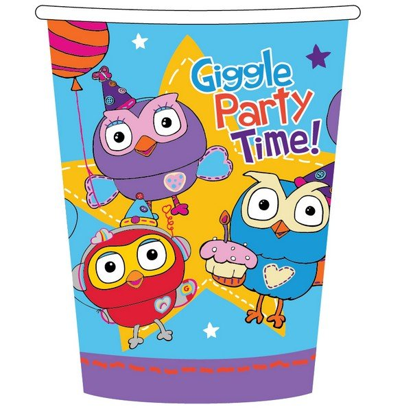 Giggle and Hoot 9oz/266ml Cups