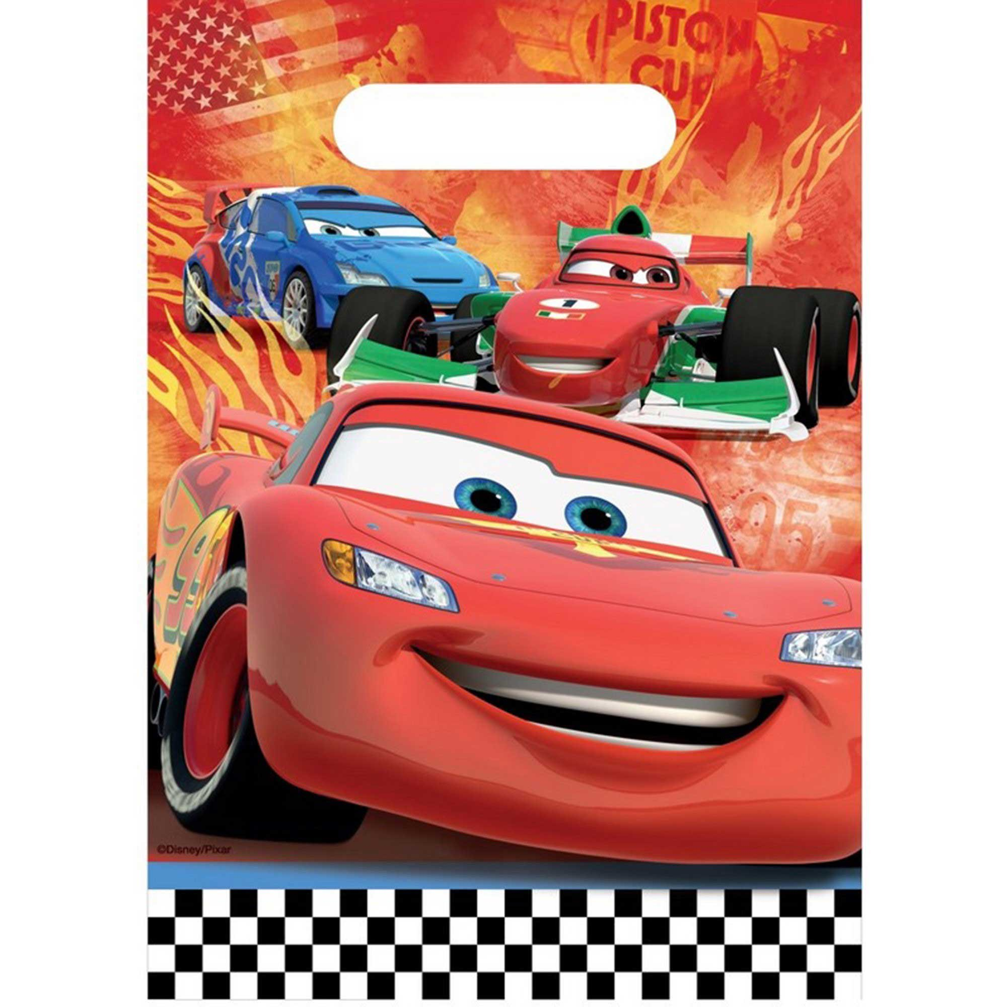 Disney Cars 2 Loot Bag